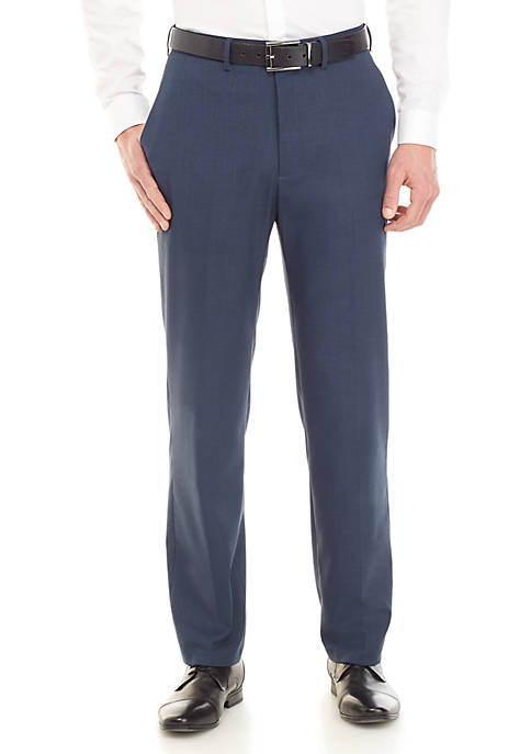 Saddlebred® Traveler Stretch Sharkskin Dress Pants