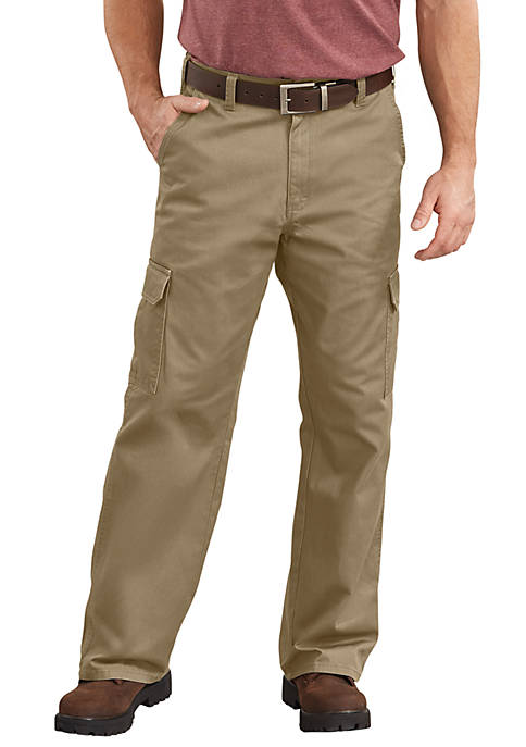 Dickies® Mens Loose Fit Straight Leg Cargo Pants