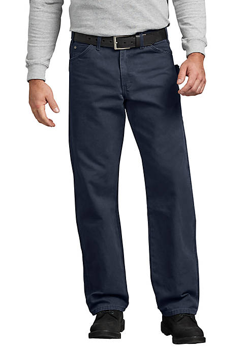 Dickies® Mens Relaxed Fit Straight Leg Carpenter Duck