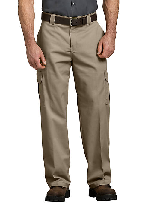 Mens Flex Relaxed Fit Straight Leg Cargo Pants