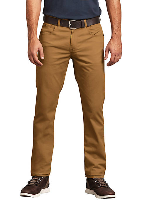 Dickies® Mens Slim Taper Flex 5 Pocket Pants