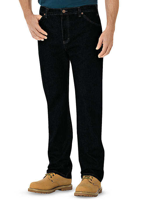 Dickies® Regular-Fit Straight Leg 6-Pocket Jeans