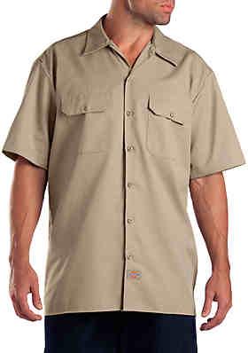 5541b2fa Dickies® Short Sleeve Work Shirt ...