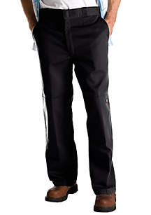 Big & Tall Loose Fit Double Knee Twill Work Pants