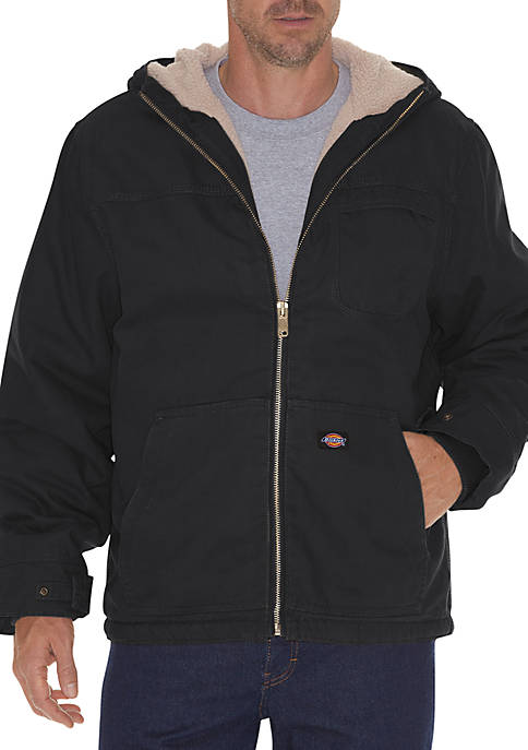 Dickies® Big & Tall Sanded Duck Sherpa Lined