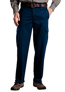 Relaxed Fit Cargo Wrinkle Resistant Pants