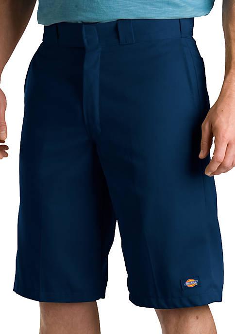 Dickies® Regular Fit Poplin Work Shorts