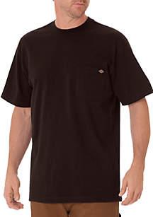 Big & Tall Short Sleeve Heavyweight Crew Neck T-Shirt