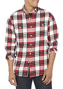 Long Sleeve 2 Pocket Flannel Shirt