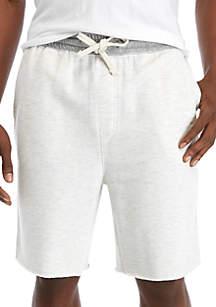 TRUE CRAFT Cut Off Fleece Shorts