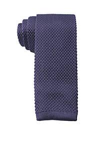 Knit Solid Necktie
