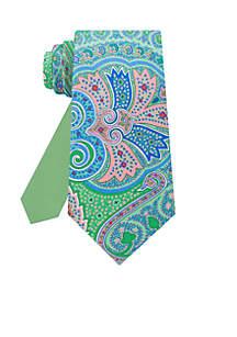 Tropic Paisley Neck Tie