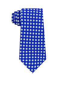 Oval Window Neat Neck Tie