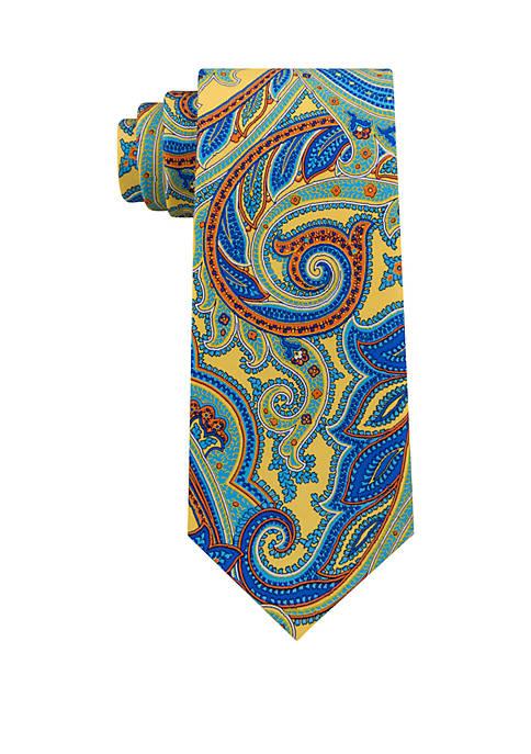 Pop Paisley Print Tie