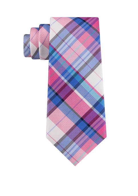 Tommy Hilfiger Oak Plaid Necktie