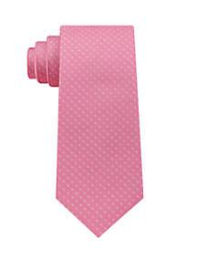 Preppy Dot Print Tie
