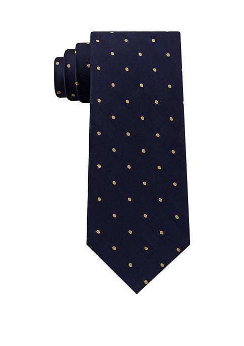 Herringbone Dot Tie
