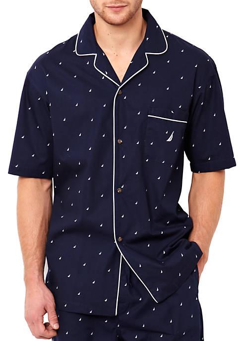 J Class Printed Cotton Sleep Shirt