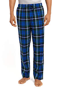 Cozy Fleece Plaid Pants