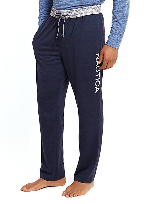 Nautica Space-Dyed Logo Pants