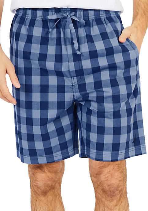 Nautica Buffalo Plaid Sleep Shorts