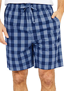 Buffalo Plaid Sleep Shorts