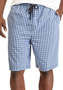 Windowpane Sleep Shorts