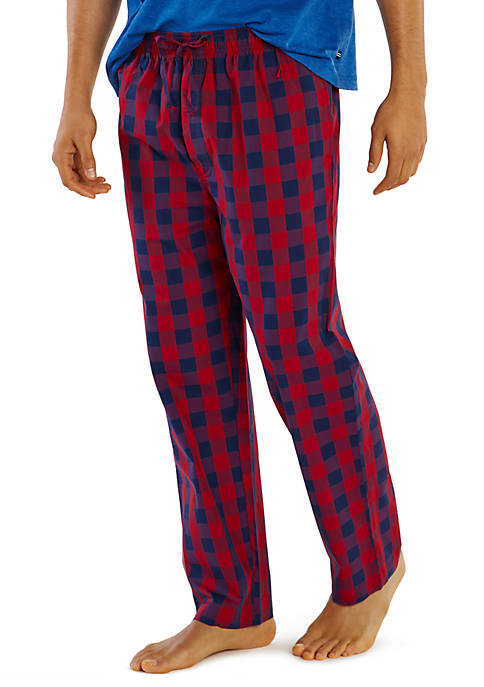 Nautica Buffalo Check Woven Pajama Pants