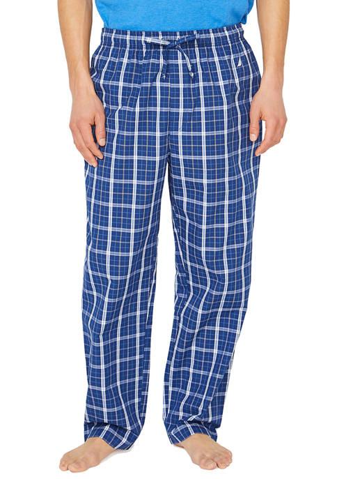 Plaid Woven Sleep Pants