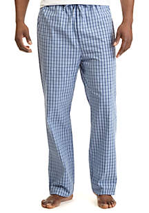 Check Broadcloth Sleep Pants