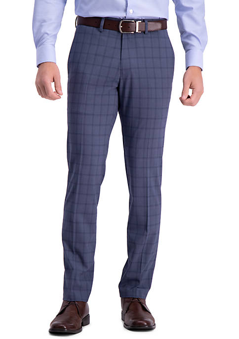 Kenneth Cole Reaction Stretch Bold Plaid Slim Fit