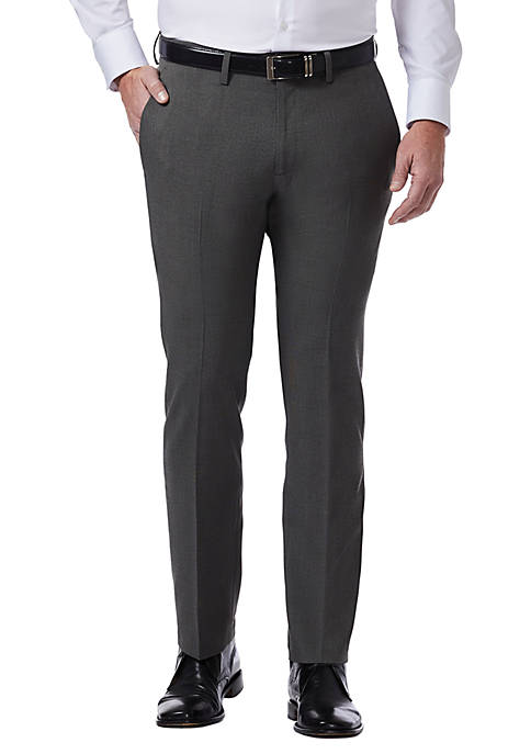 Kenneth Cole Reaction Tic Slim Fit Flat Front