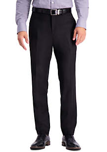 Kenneth Cole Reaction Stretch Texture Weave Slim Fit Flat Front Dress Pants