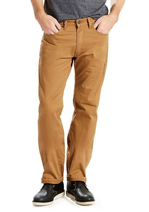 Levi's® 505™ Regular Fit Caraway Slub Straight Leg