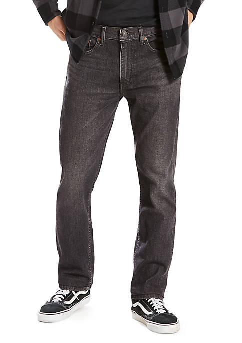Levi's® 505™ Regular Fit Kansas Straight Leg Jeans