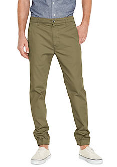 Levi's® Burnt Olive Chino Jogger Pants
