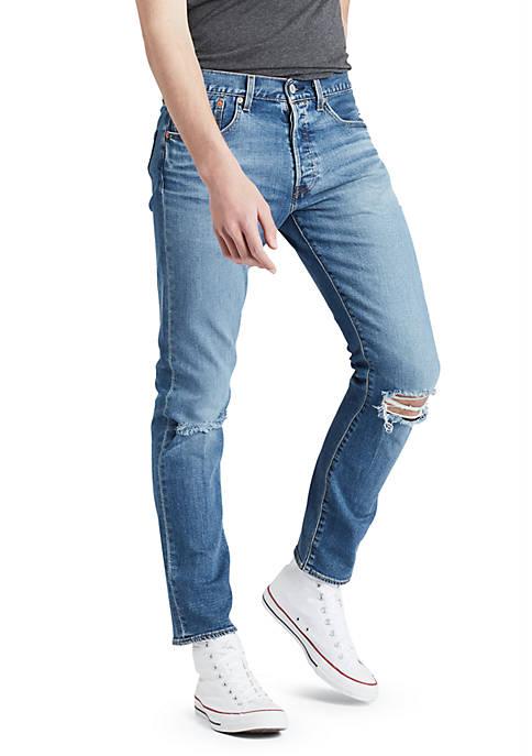 olvidadizo Muchas situaciones peligrosas bota  Levi's® Premium 501® Slim Taper Jeans   belk