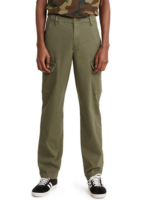 Tapered Leg Cargo Pants