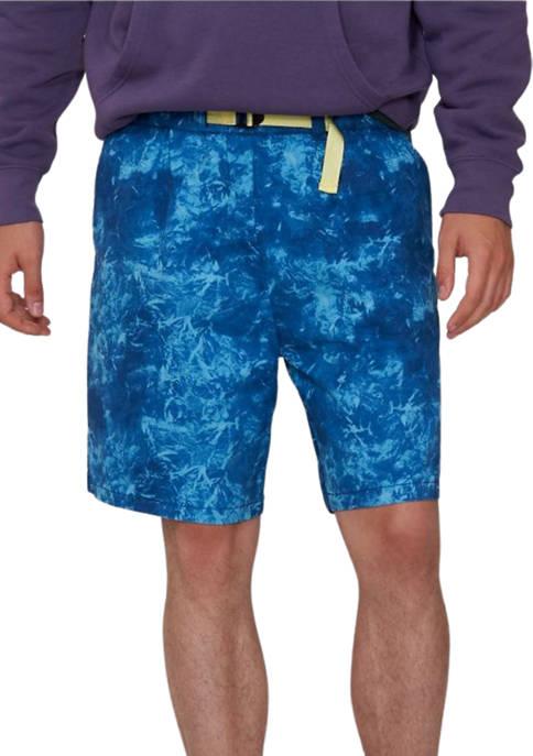 Levi's® Mountain Range Norse Blue Belted Utility Shorts