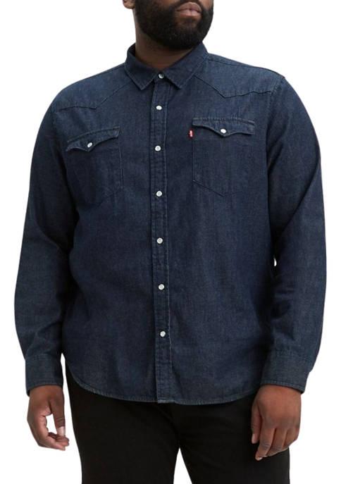 Levi's® Big & Tall Long Sleeve Classic Western