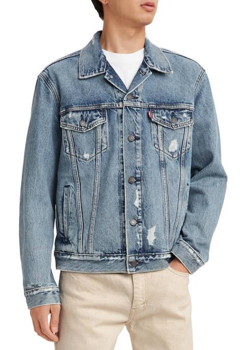 Levi's® Trucker Distressed Denim Jacket
