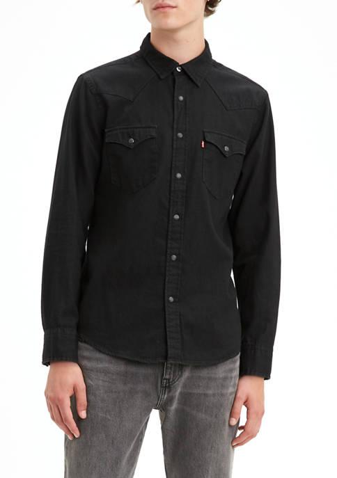Levi's® Classic Standard Western New Black Shirt