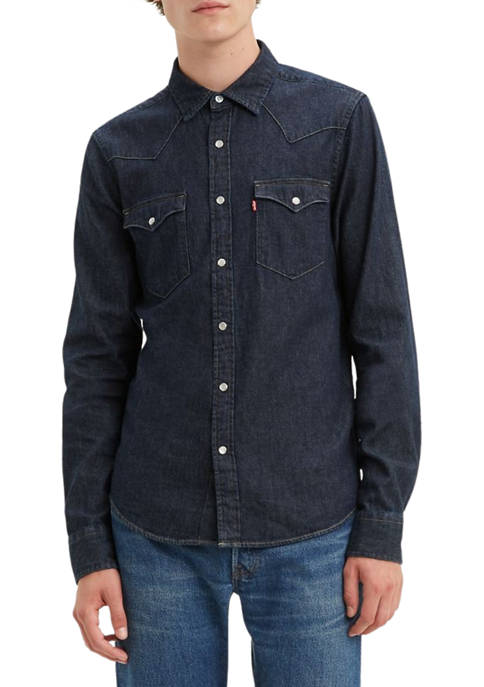 Levi's® Standard Red Cast Rinse Classic Western Shirt