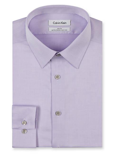 Steel Non-Iron Performance Slim Fit Dress Shirt