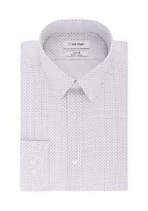 Slim Stretch Multi Diamond Print Shirt