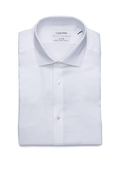 Calvin Klein French Cuff Long Sleeve Dress Shirt