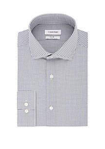 Calvin Klein Slim Fit Multi Check Dress Shirt