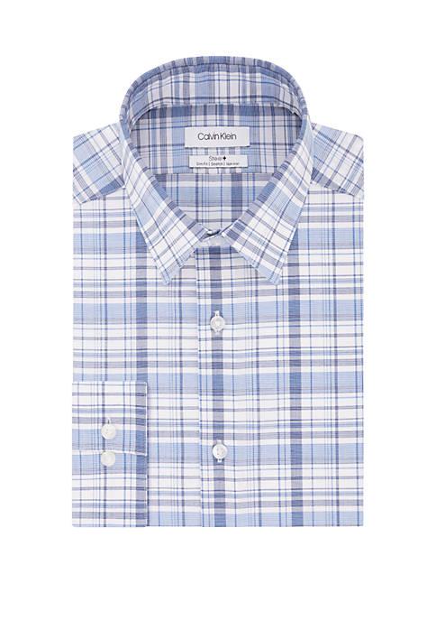 Calvin Klein Slim Fit Multi Plaid Shirt