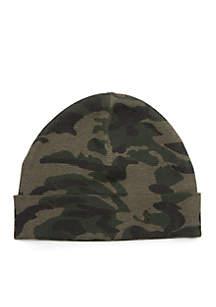 Camo Thermal Cuff Hat
