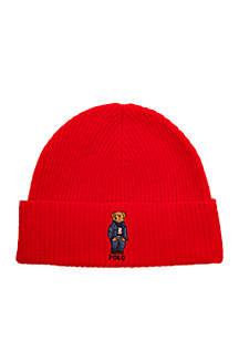 Jean Jacket Sweater Cuff Bear Hat